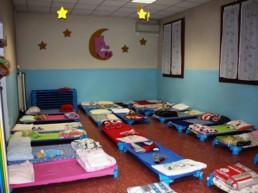 dormitorio scuola infanzia