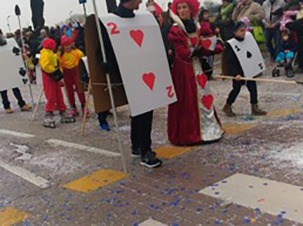 Carnevale genitori e bambini